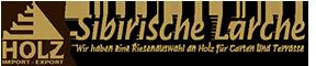 Sibirische Lärche Kantholz Pfosten, 90x90mm 11,15€ lfm (max. 6m),  gehobelt und gefast