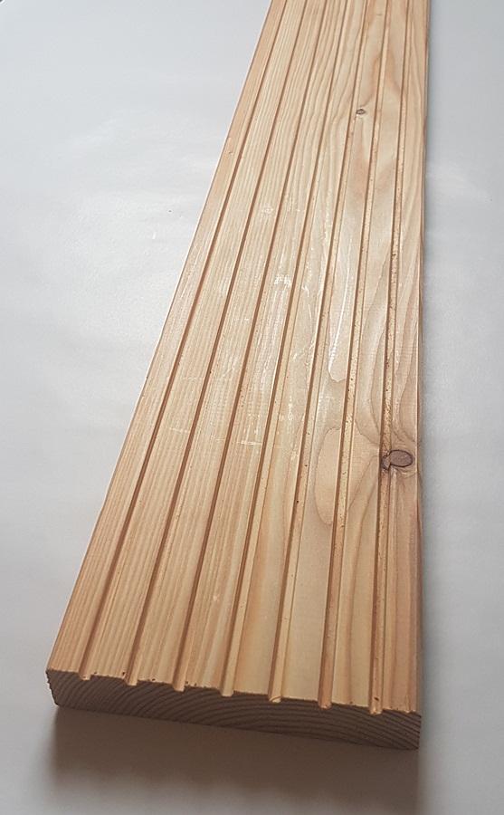 sibirische l rche terrassendielen 27x143mm grob glatt 3 65 lfm max 6m fsc mix credit. Black Bedroom Furniture Sets. Home Design Ideas