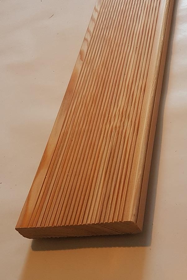 Sibirische Larche Terrassendielen 27x143mm Fein Fein 3 65 Lfm Max
