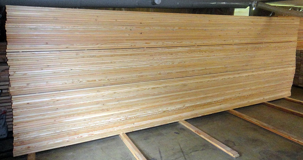Sibirische Larche Terrassendielen 20x143mm Glatt Glatt 2 90 Lfm