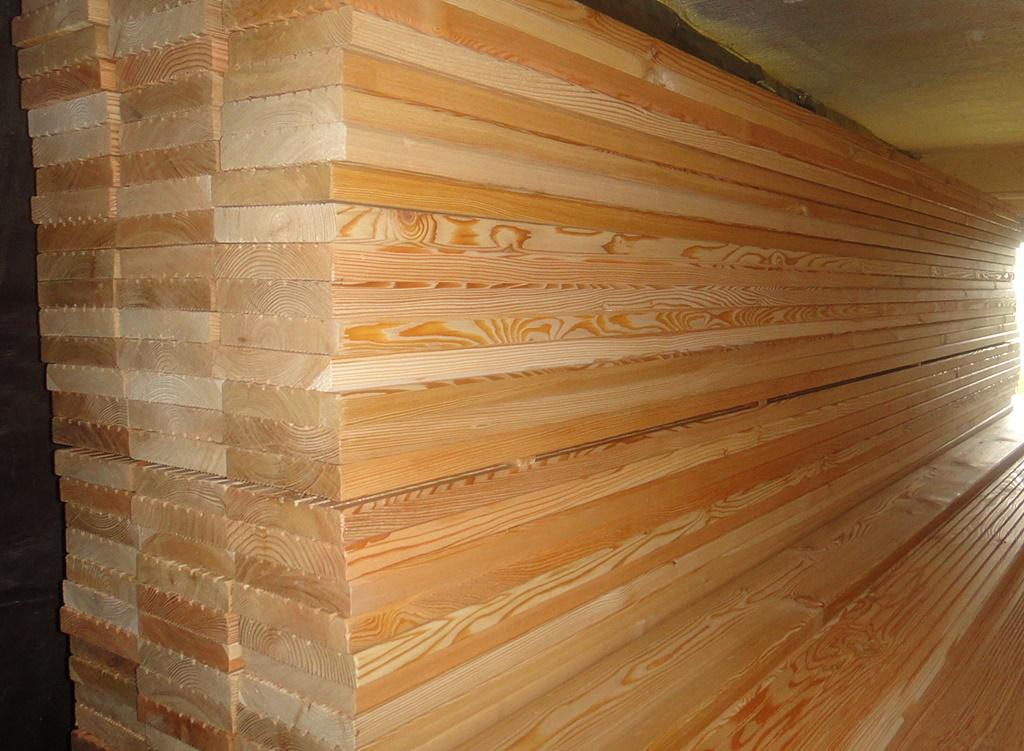 Sibirische Larche Terrassendielen 27x143mm Grob Glatt 3 65 Lfm