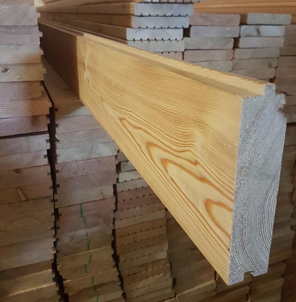 sibirische l rche massivholzdielen 35x135mm 3 80 lfm max 6m nut feder gehobelt und. Black Bedroom Furniture Sets. Home Design Ideas