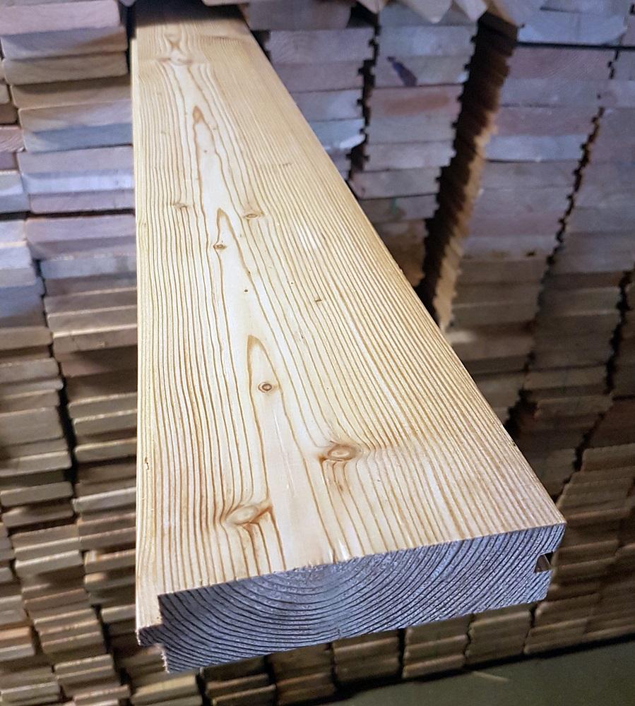 sibirische l rche massivholzdielen 35x118mm 3 50 lfm. Black Bedroom Furniture Sets. Home Design Ideas