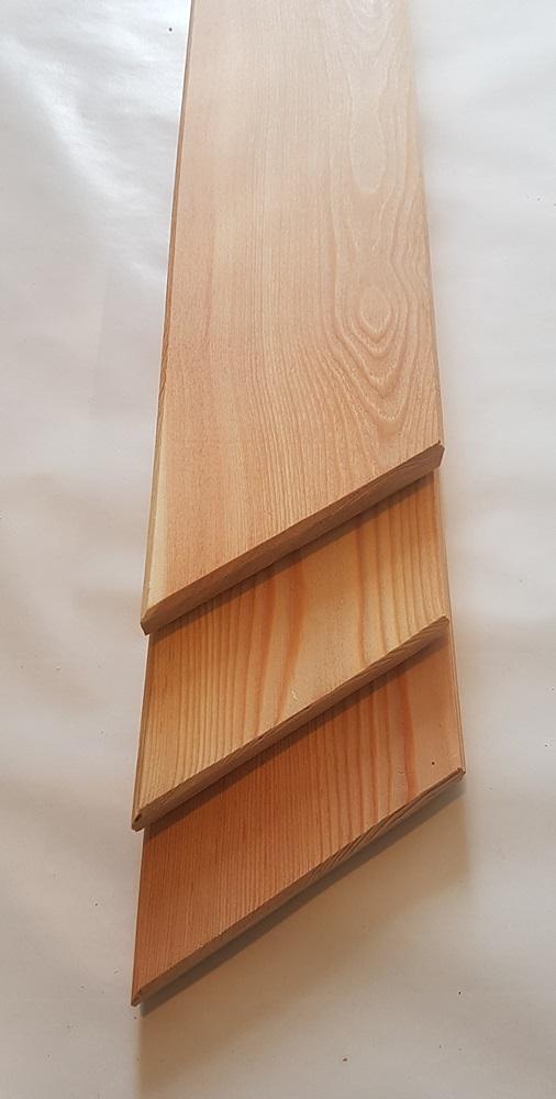 sibirische l rche zaunbrett 20x95mm 2 80 lfm max 2m gehobelt und gefast sibirische. Black Bedroom Furniture Sets. Home Design Ideas